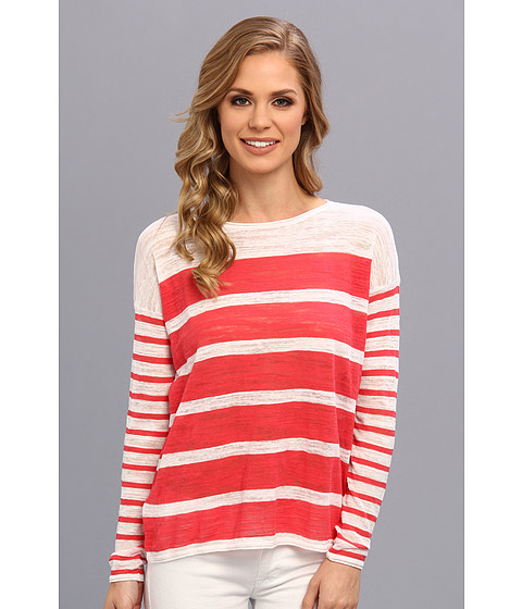 Bluze Tommy Bahama - Almar Stripe Pullover - Paradise Pink