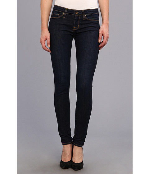 Blugi Big Star - Alex Mid Rise Skinny in Deep Sea - Deep Sea