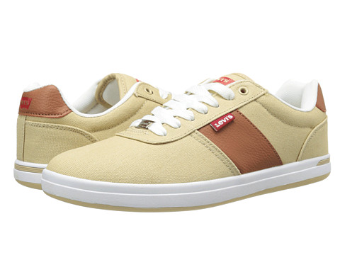 Adidasi Levis - Gerald Casual Canvas - Tan/Brown