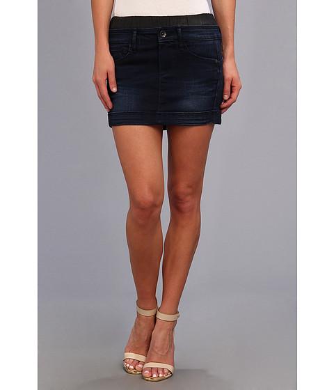 Pantaloni G-Star - Midge Boxer Mini Skirt in Slander Navy Superstretch Dark Aged - Dark Aged