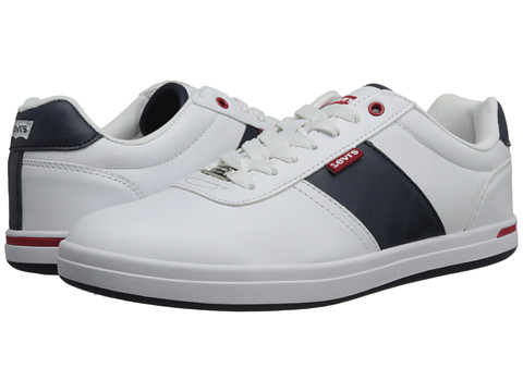 Adidasi Levis - Gerald Core PU - White/Navy