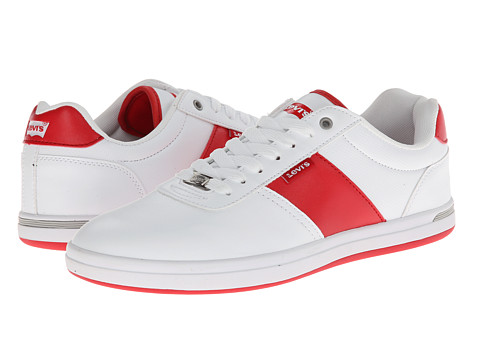 Adidasi Levis - Gerald Core PU - White/Red