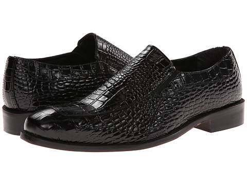 Pantofi Stacy Adams - Parisi - Black Crocodile & Hornback Print Leather