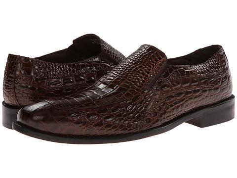 Pantofi Stacy Adams - Parisi - Cognac Crocodile & Hornback Print Leather