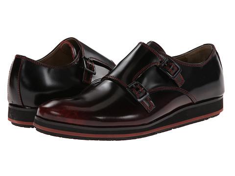 Pantofi Hush Puppies - Halo Double Monk - Black Leather
