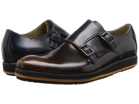 Pantofi Hush Puppies - Halo Double Monk - Navy Leather