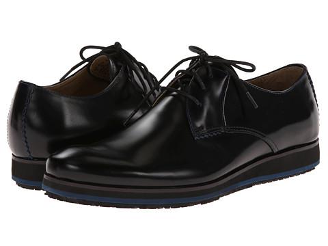 Pantofi Hush Puppies - Halo Oxford Plain Toe - Black Leather