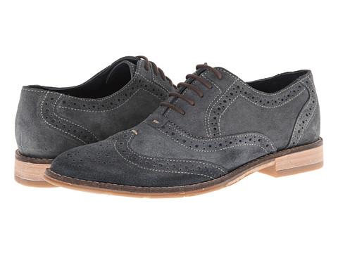 Pantofi Hush Puppies - Style Brogue - Navy Suede