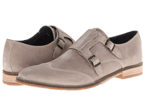 Pantofi Hush Puppies - Style Monk Strap - Taupe Suede