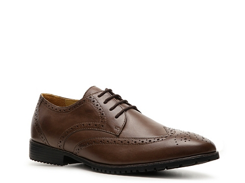 Pantofi Sandro Moscoloni - Forge Wingtip Oxford - Brown