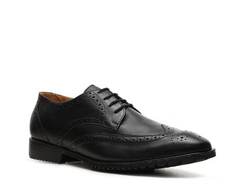 Pantofi Sandro Moscoloni - Forge Wingtip Oxford - Black