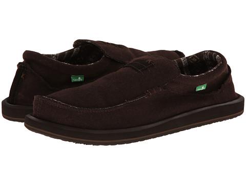 Pantofi Sanuk - Kyoto Felt - Brown