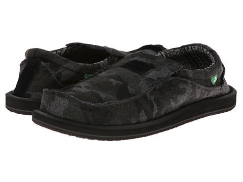 Pantofi Sanuk - Kyoto Felt - Grey Camo