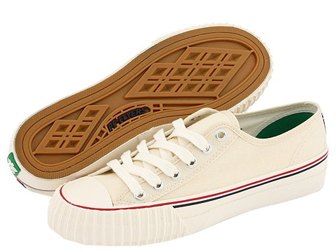 Adidasi PF Flyers - Center Lo Re-Issue - Natural Canvas