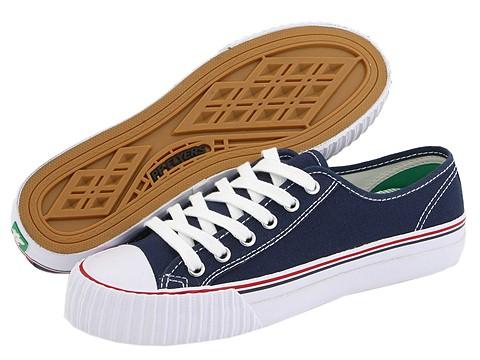 Adidasi PF Flyers - Center Lo Re-Issue - Navy Canvas